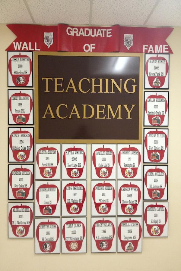 Graduate Wall of Fame