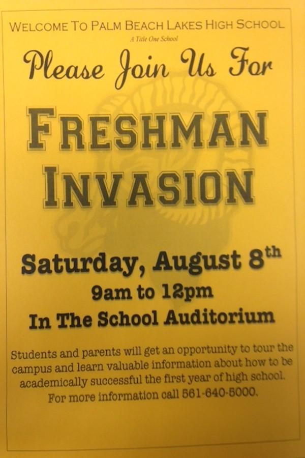 Freshman & New Student Invasion/Orientation
