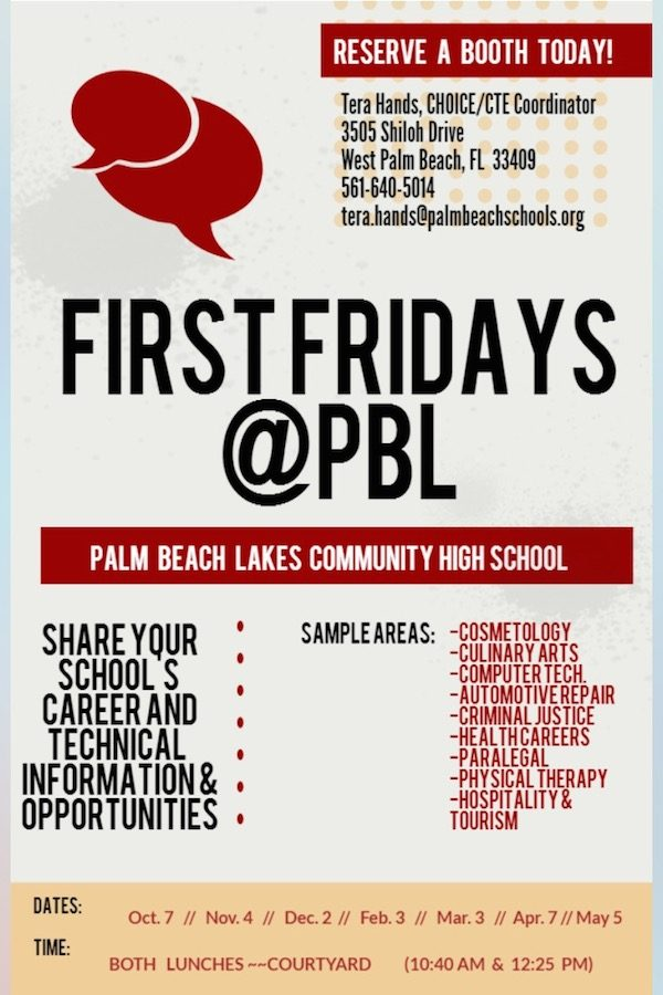 FirstFridays%40PBL+is+BACK%21