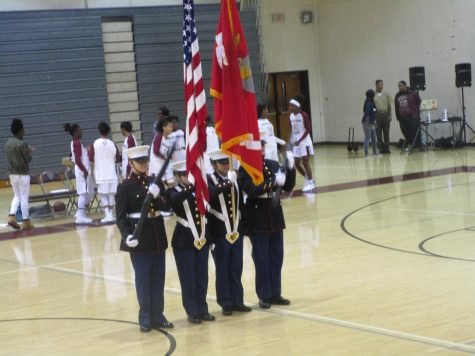 MC JROTC Supports Special Olympics