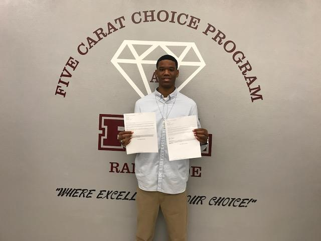 Ty Hands (Medical Academy)…Florida State University, University of Florida, University of Miami, UCF, USF, FAU, Stetson University, & Clark University (MA)