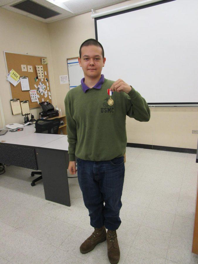 Julian Arevalo...High Shooter Medal