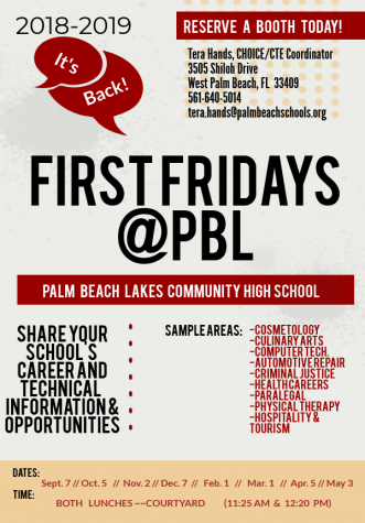 FirstFridays@PBL…Welcome Back!