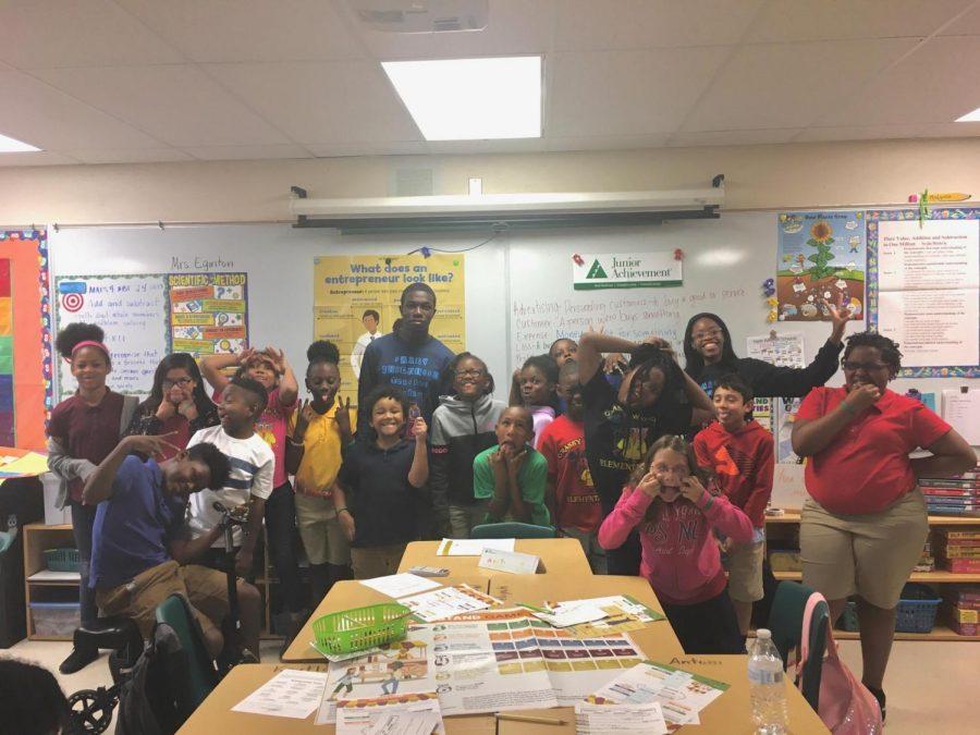 Junior Achievement at Grassy Waters Elementary School