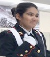 "Jezebelle Garcia (MC JROTC) ... ""Being able to treat each other like family!"""