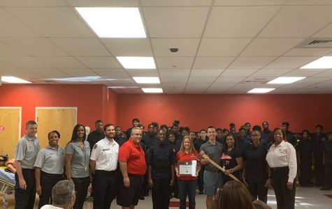Fire Academy at PBL Thanks JP Morgan Chase & Co. and the Education Foundation of PBC