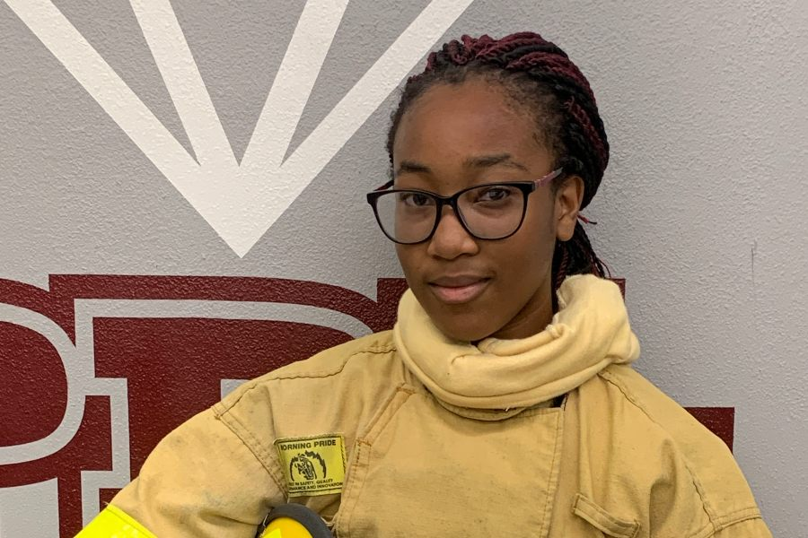 "Nikaysia Mendez -- ""The Fire Academy intrigues me because it is hands-on, and it gives us the opportunity to go straight into the field soon after graduating."""