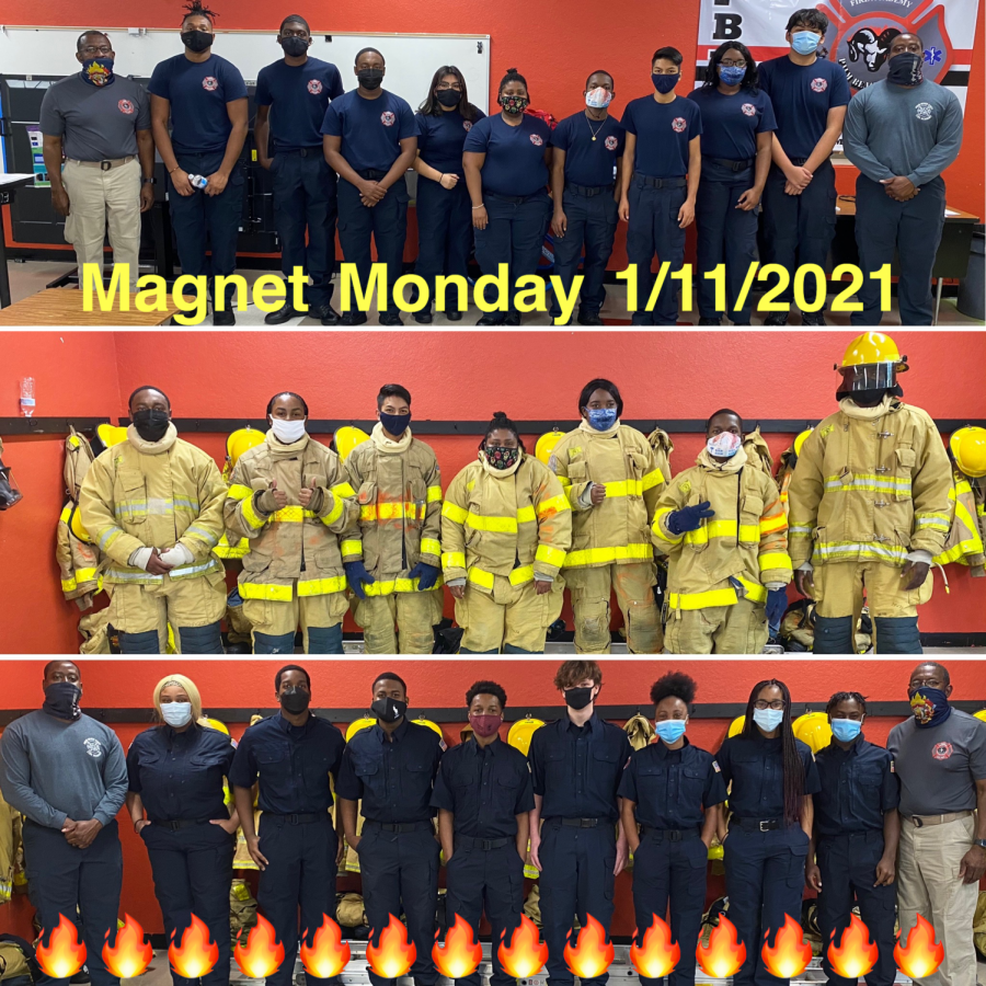 Magnet Monday in Fire!