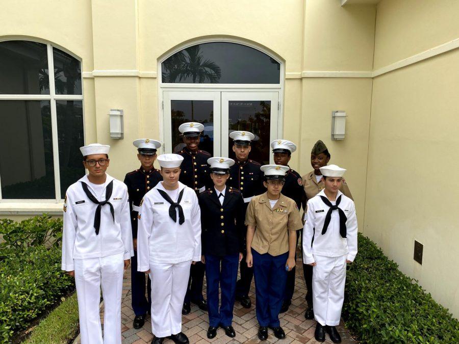 MCJROTC+Celebrates+With+Navy%21